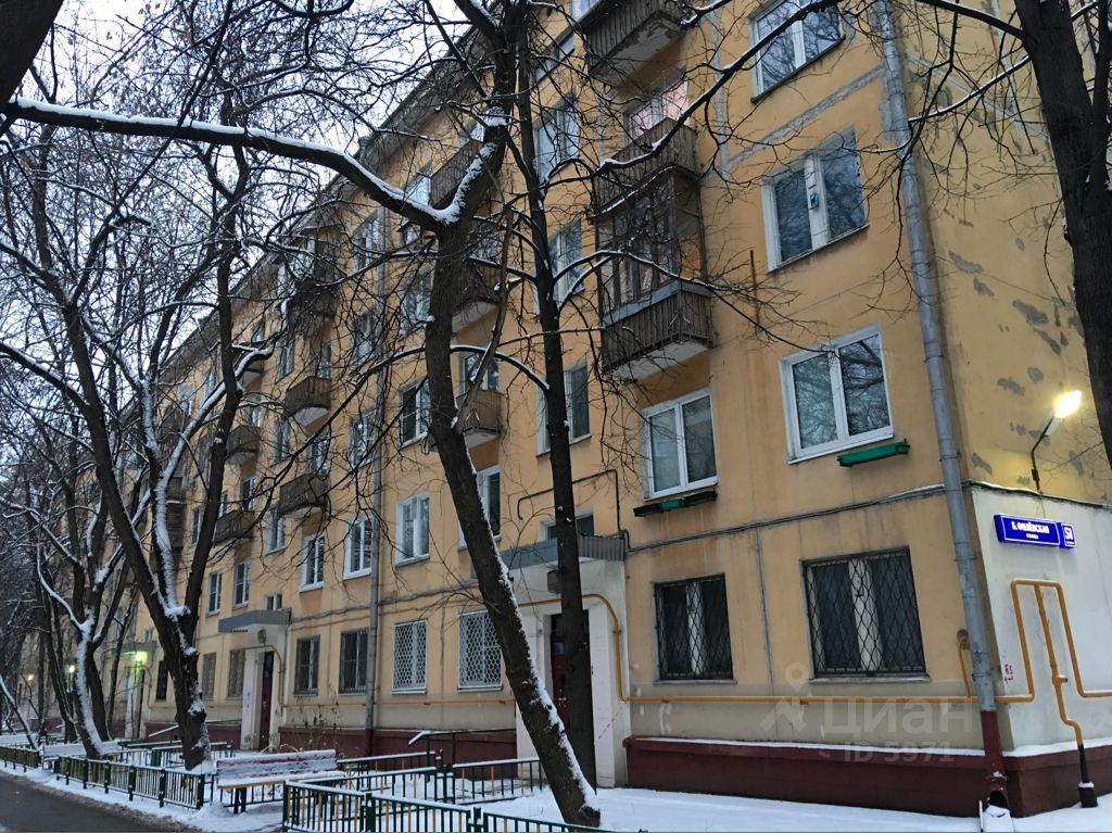 продажа трехкомнатной квартиры город Москва, Большая Филевская улица, д. 51К1