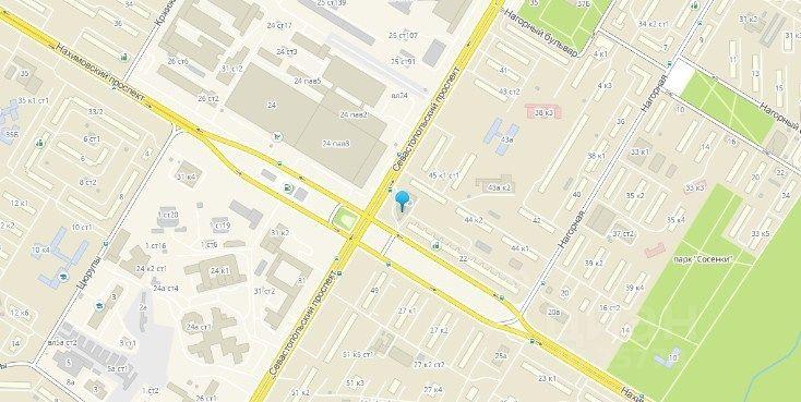 сниму трехкомнатную квартиру город Москва, метро Нахимовский проспект, Севастопольский проспект, д. 47