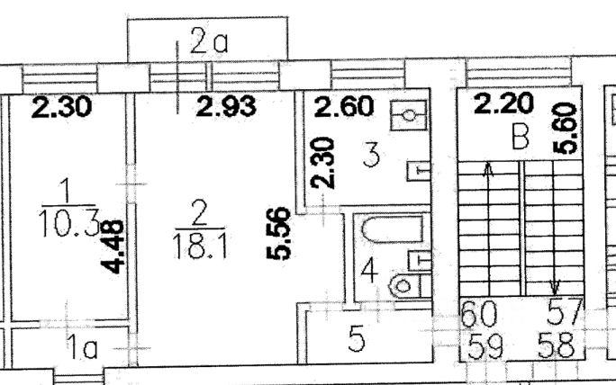 продам двухкомнатную квартиру город Москва, метро Улица 1905 года, Стрельбищенский переулок, д. 21