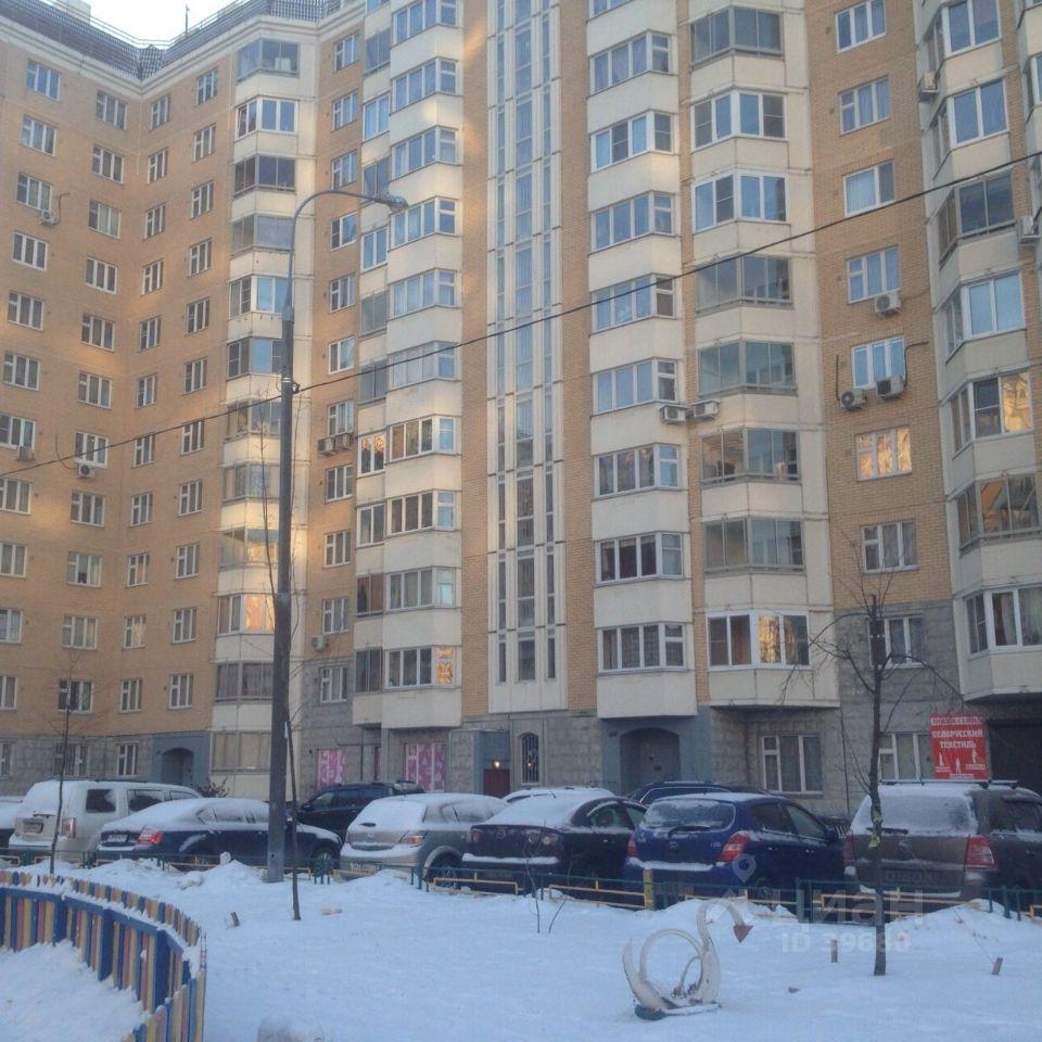 купить трехкомнатную квартиру город Москва, метро Выхино, улица Рудневка, д. 41