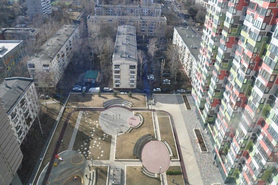 продается двухкомнатная квартира город Москва, метро Октябрьское поле, улица Маршала Тухачевского, д. 49