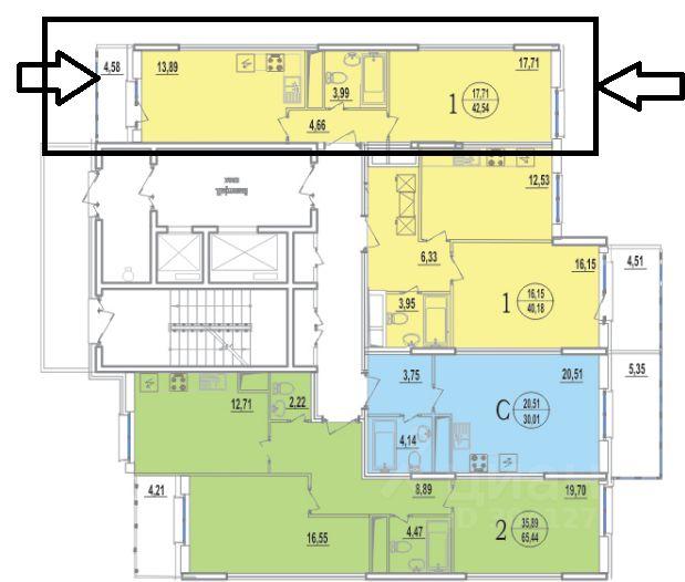 продажа недвижимости город Реутов, улица Октября, д. 44