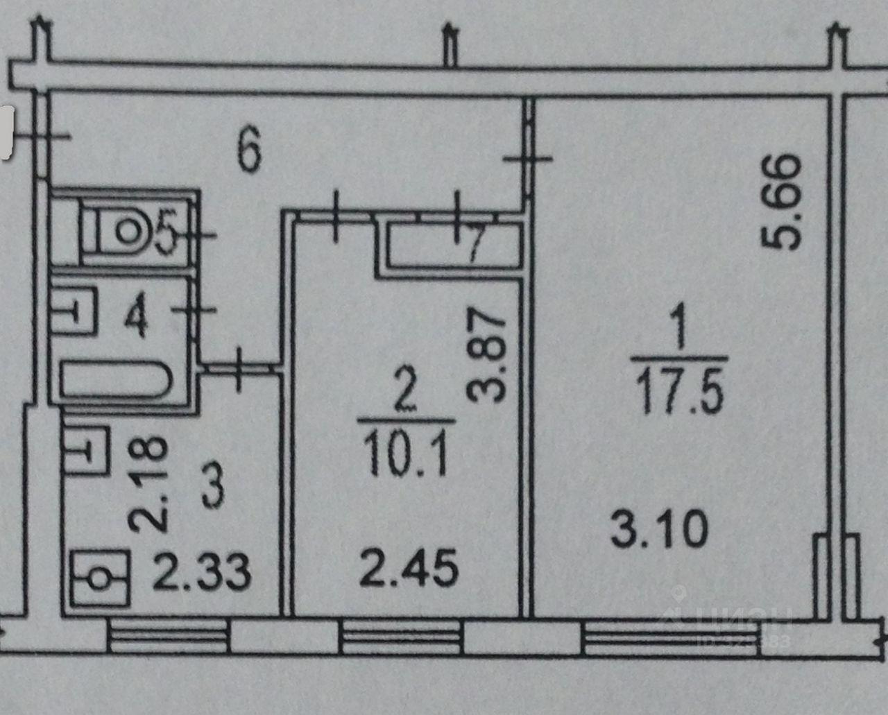продам двухкомнатную квартиру город Москва, метро Планерная, улица Свободы, д. 85К1
