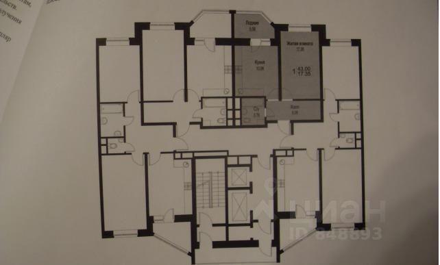 продается однокомнатная квартира Раменский район, город Раменское, улица Приборостроителей