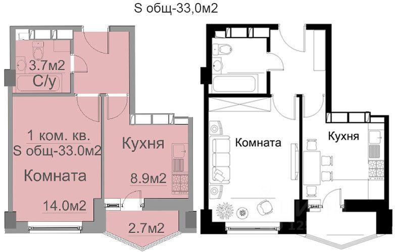 купить однокомнатную квартиру Ногинский район, деревня Щемилово, улица Орлова, д. 6