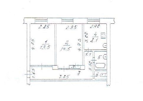 Продается двухкомнатная квартира за 2 460 000 рублей. г Сыктывкар, ул Интернациональная, д 115.