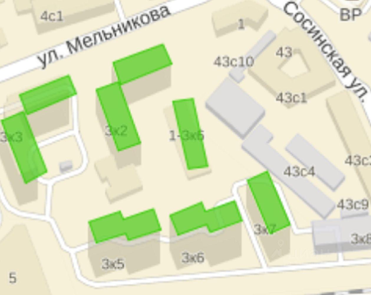 продам однокомнатную квартиру город Москва, метро Волгоградский проспект, улица Мельникова, д. 3к7