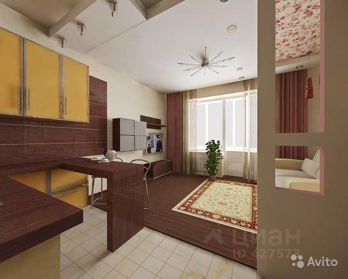 продаю однокомнатную квартиру Домодедово городской округ, город Домодедово, д. к31