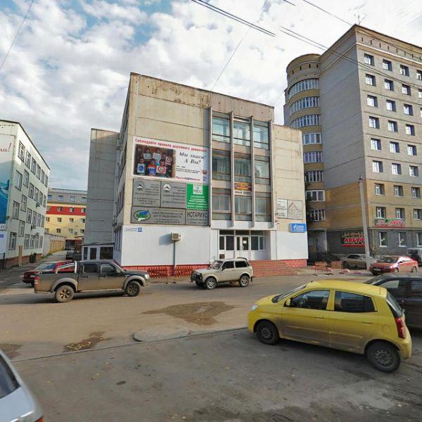 Бизнес-центр на ул. Домны Каликовой, 29