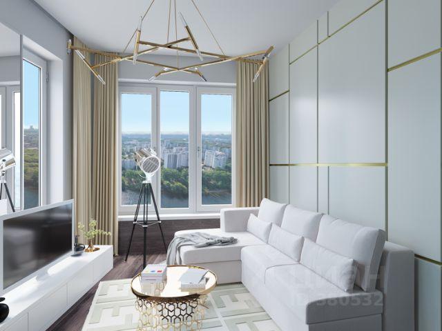 Продается трехкомнатная квартира за 20 900 000 рублей. г Москва, Карамышевская наб, двлд 1 к 1.