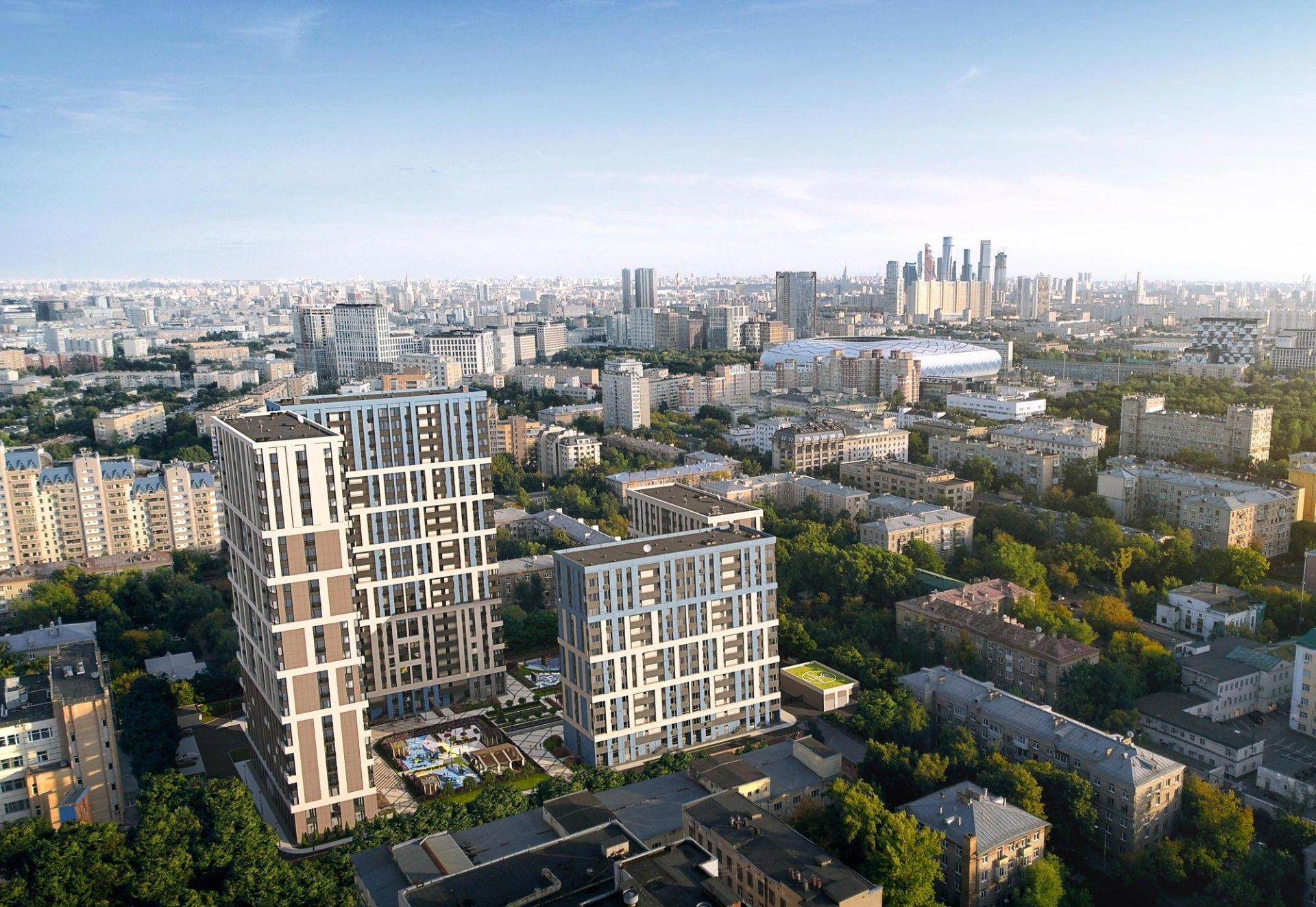 жилой комплекс Петровский парк