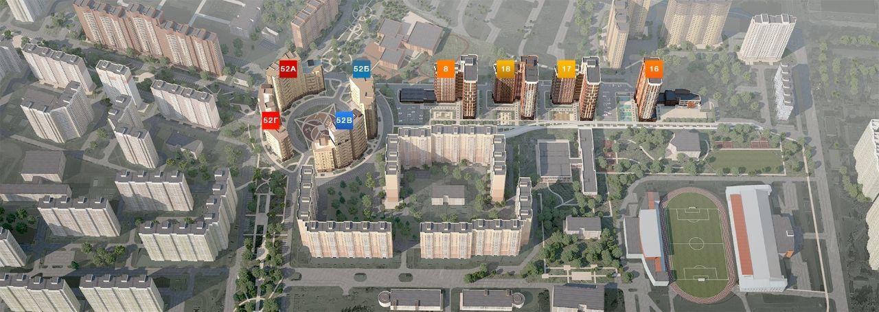 купить квартиру в ЖК Центральный (Долгопрудный)
