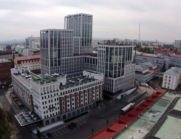 Многофункциональный комплекс Верхняя торговая Residence (Верхняя торговая Резиденция)