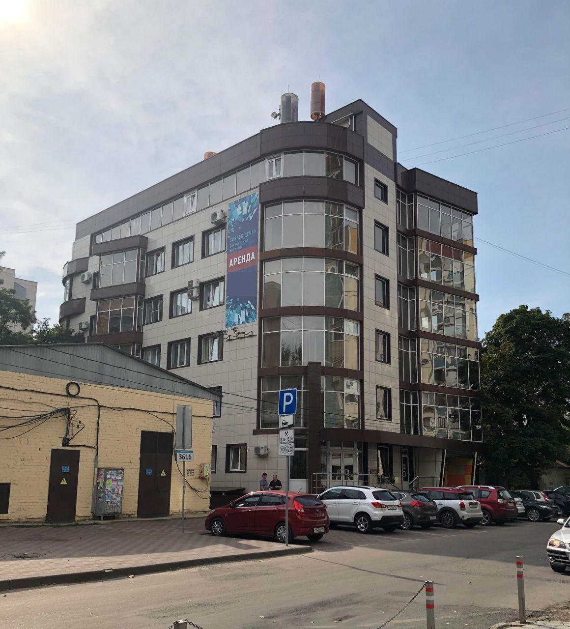 Бизнес Центр в Бакунинском переулке, 1