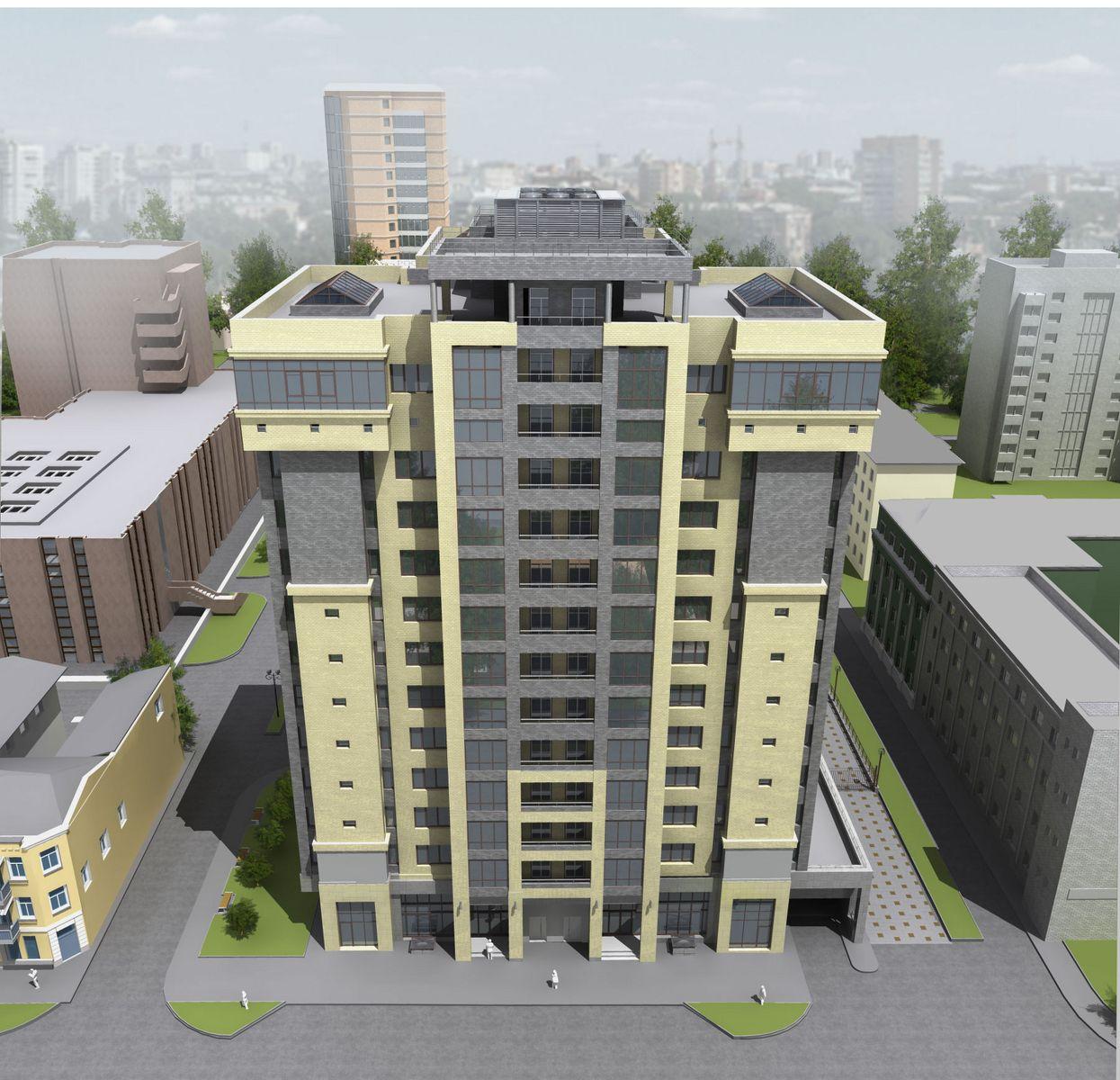 жилой комплекс Горького 168