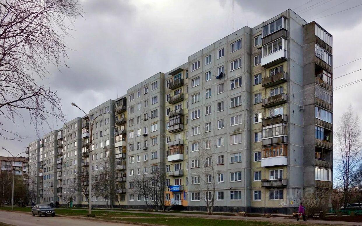 Купить двухкомнатную квартиру 42м² ул. Щусева, 9к1, Великий Новгород, Новгородская область - база ЦИАН, объявление 231815136
