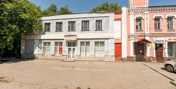 Торгово-офисный комплекс на ул. Пушкина, 50/48