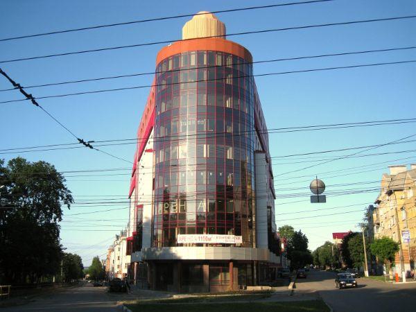 Торгово-офисный комплекс на ул. Горбачёва, 62