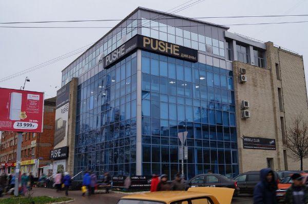 Торгово-офисный комплекс на ул. Фрунзе, 1Г