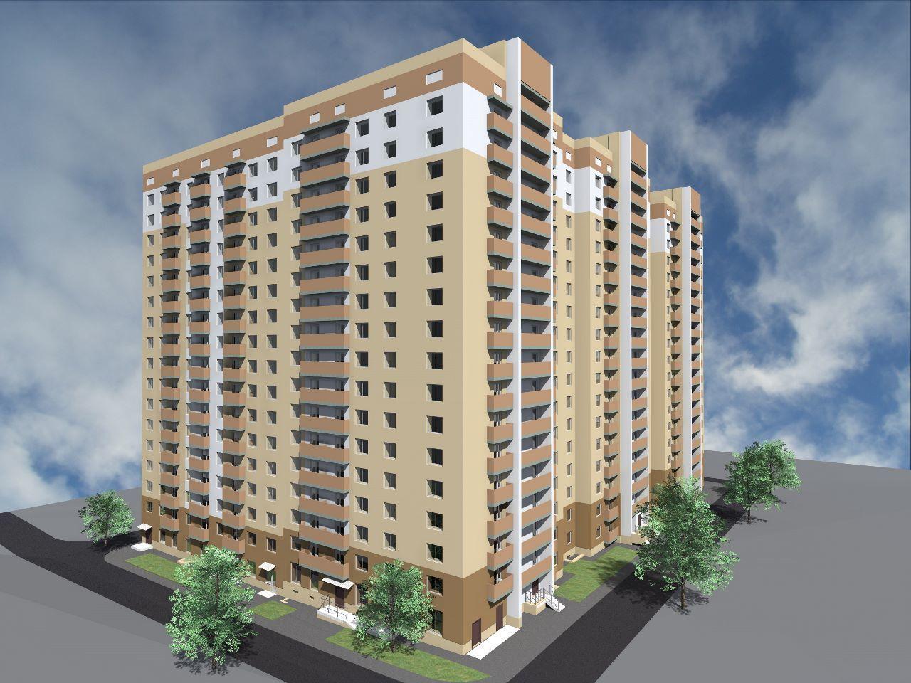жилой комплекс по ул. Маркина