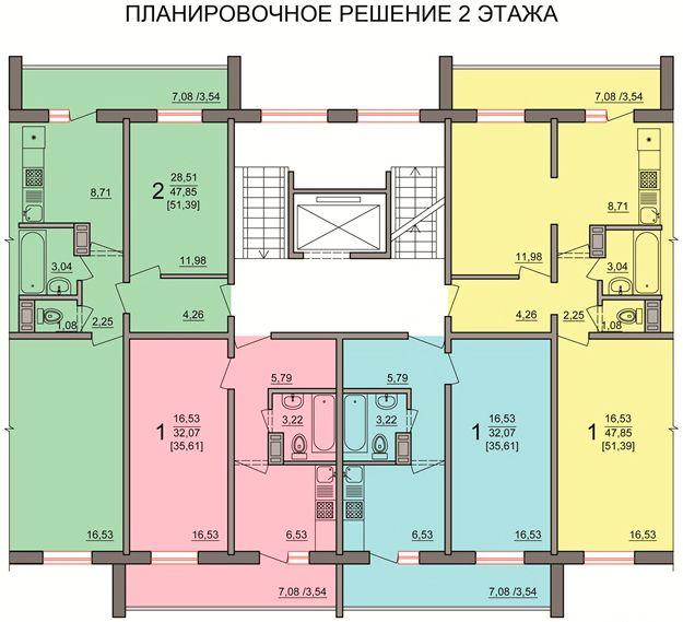 жилой комплекс Победы, 48б