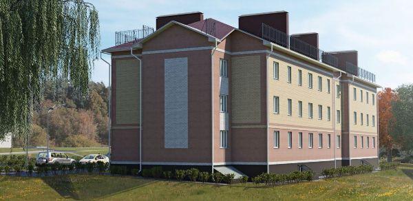 1-я Фотография ЖК «Дом №2А в пос. Космынино»