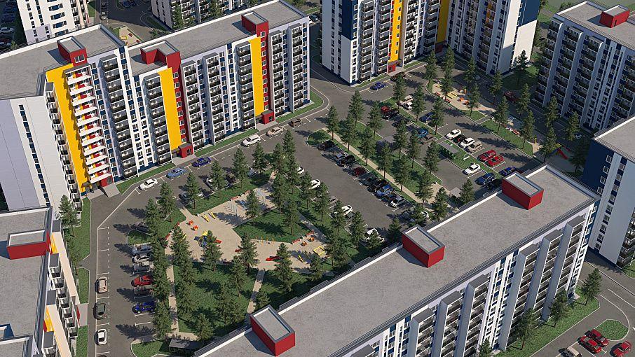 купить квартиру в ЖК Свиристель