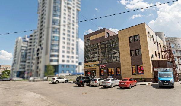 Офисное здание на ул. Папанинцев, 133