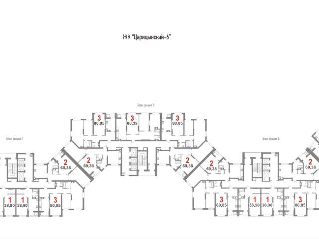 Продается двухкомнатная квартира за 2 344 830 рублей. г Саратов.