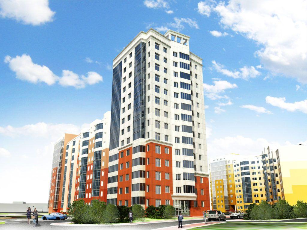 жилой комплекс дом 1-7, 203 микрорайон