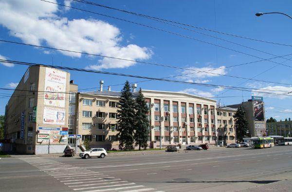 Бизнес-центр на ул. Льва Толстого, 1