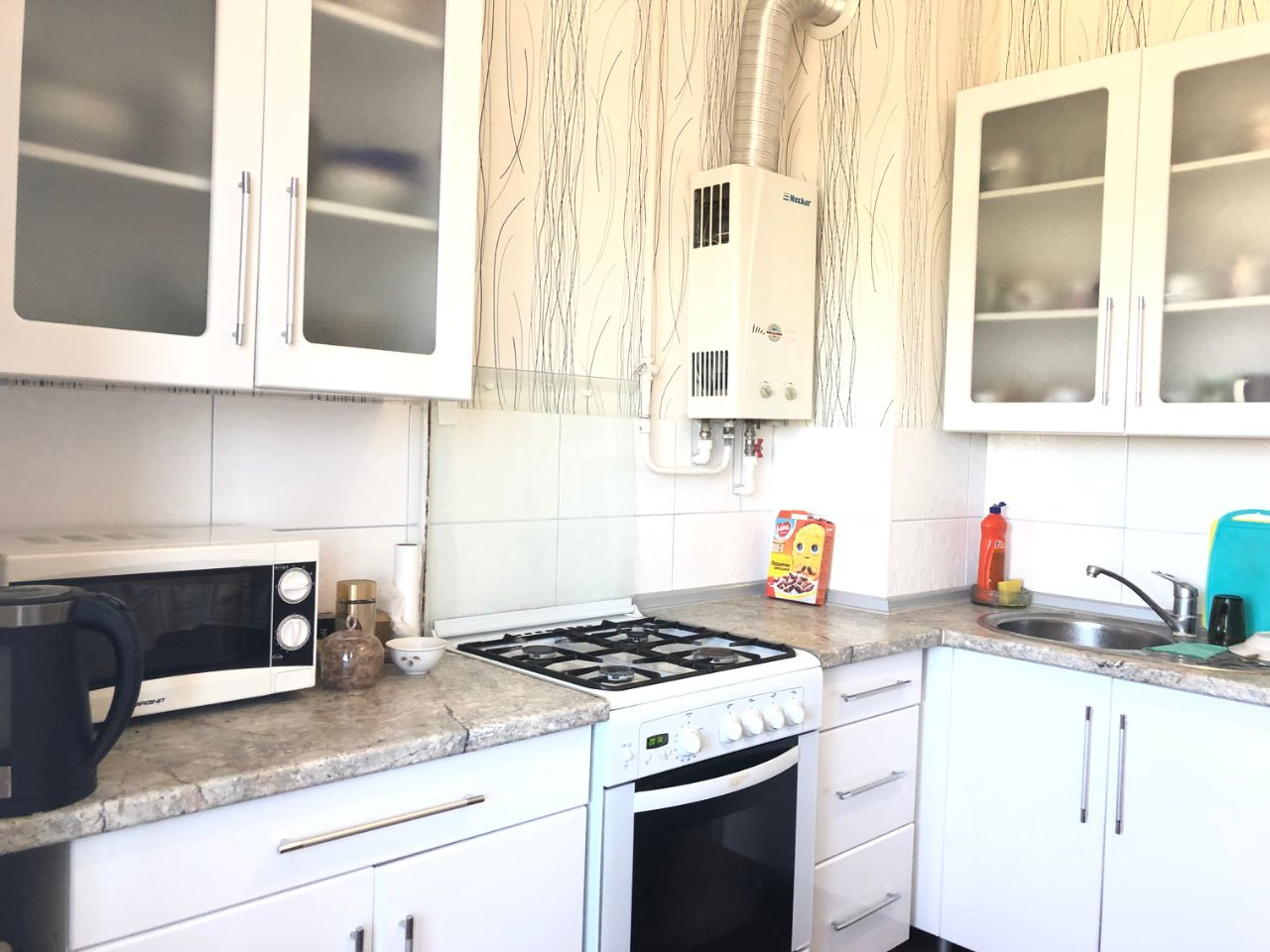 Купить трехкомнатную квартиру 65м² ул. Фрунзе, Таганрог, Ростовская область - база ЦИАН, объявление 225056949