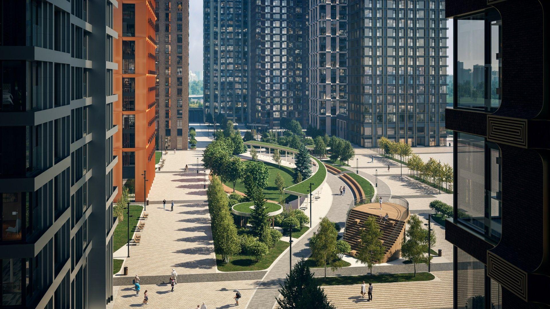 жилой комплекс Метрополия