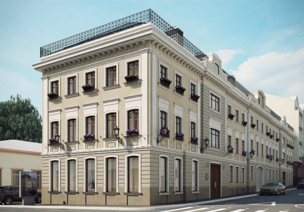 продажа квартир Palazzo (Остоженка 12)
