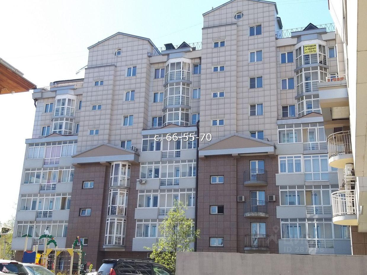 Продаю трехкомнатную квартиру 120м² ул. Дзержинского, 20, Иркутск, Иркутская область, Правобережный - база ЦИАН, объявление 231442847