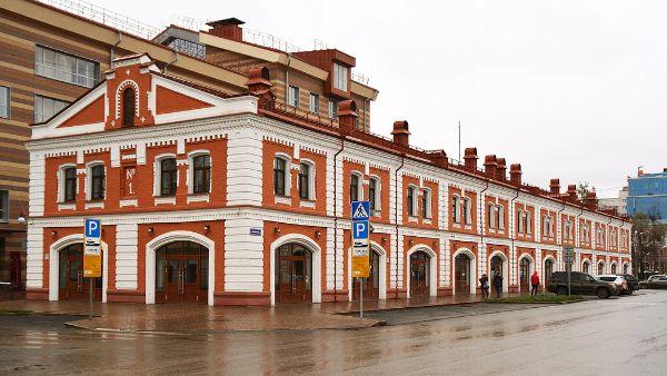 Отдельно стоящее здание на ул. Советская, 65А