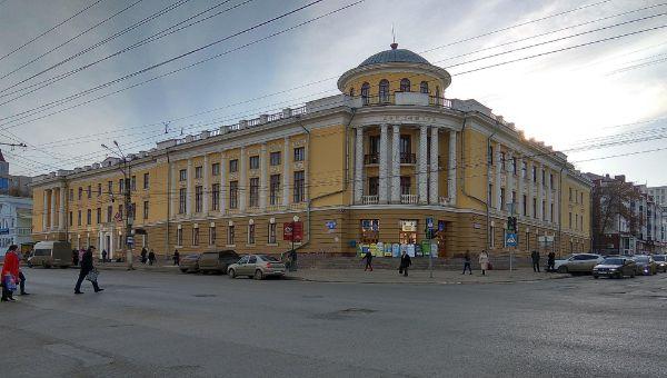 Офисное здание на проспекте Ленина, 12