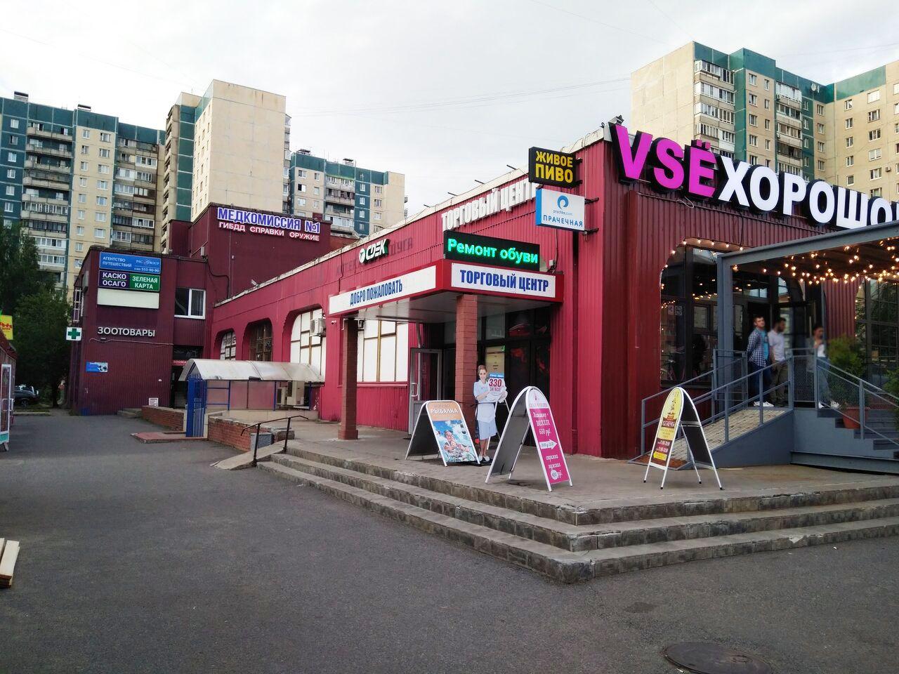 Торговом центре на Богатырском проспекте, 35к1