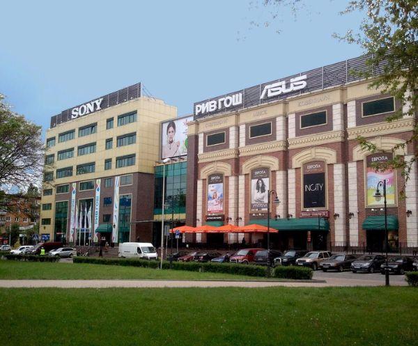 Торгово-развлекательный центр Европа