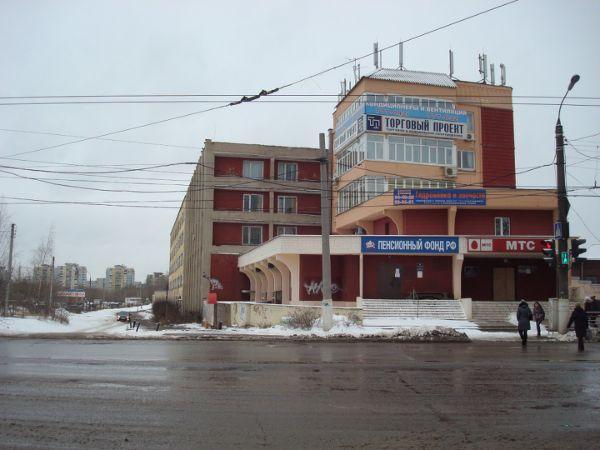 Бизнес-центр в Смоленском переулке, 1А
