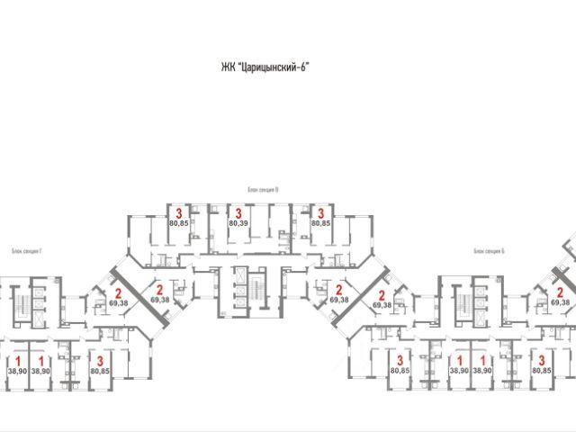 Продается двухкомнатная квартира за 2 631 750 рублей. г Саратов, ул Вокзальная.