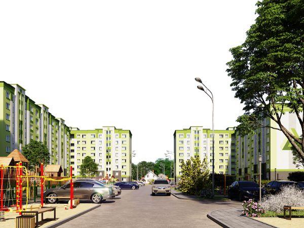 1-я Фотография ЖК «на улице Баженова»