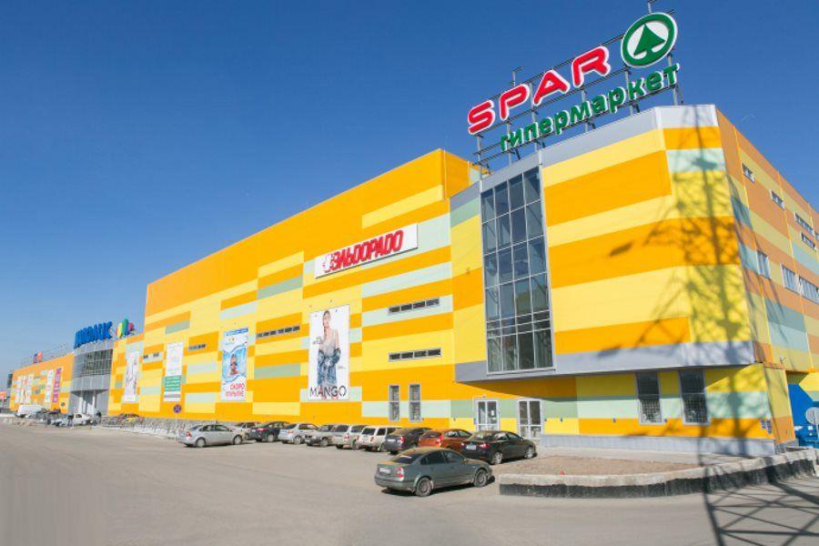 Торгово-развлекательном центре Акваполис