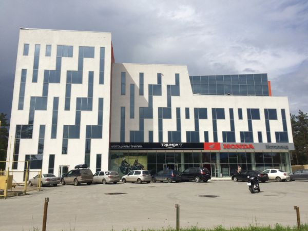 Бизнес-центр на ул. Станционная, 60Г