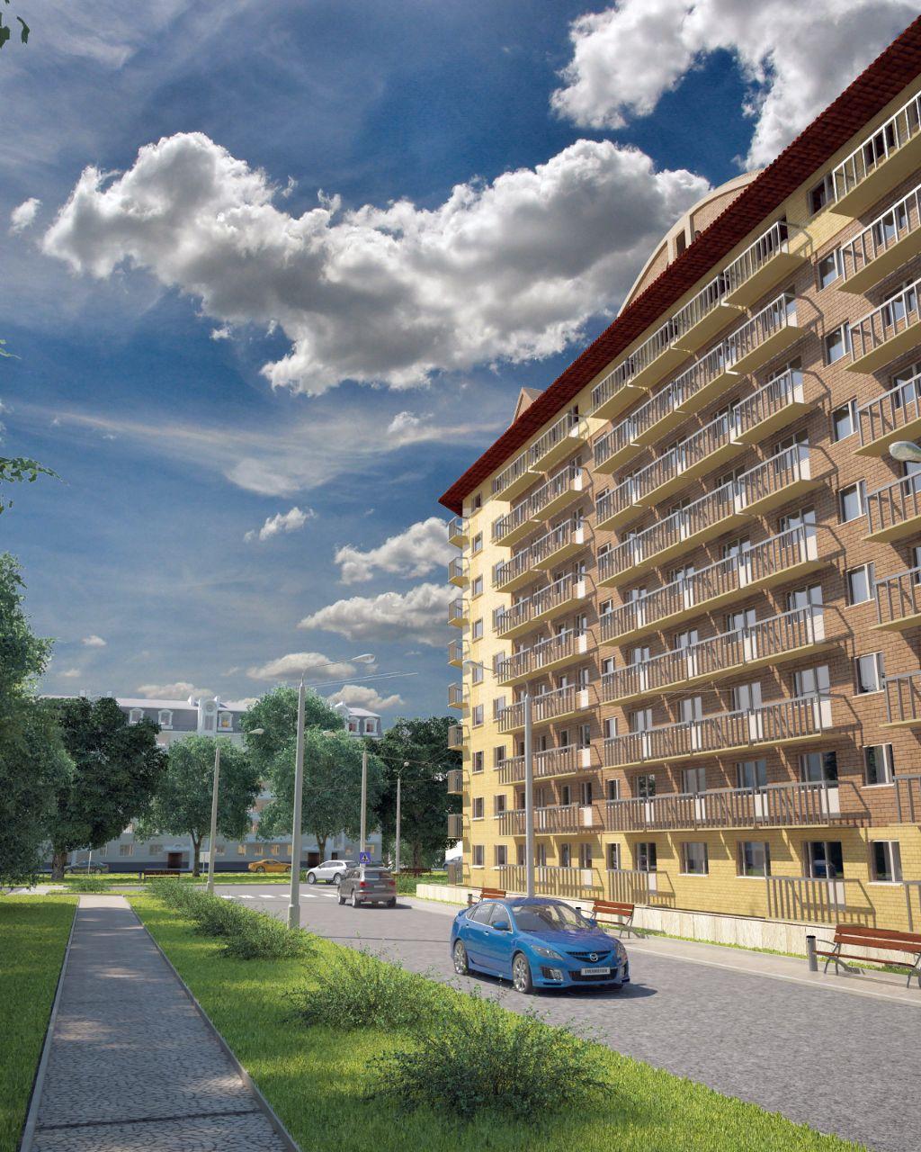 жилой комплекс по ул. Комарова