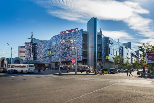 Торгово-развлекательный центр Континент на Звездной