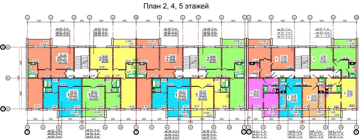 продажа квартир по ул. Спортивная, 7