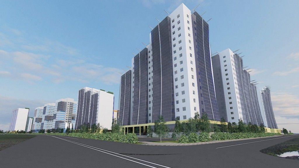 купить квартиру в ЖК по Сергеляхскому шоссе (первый объект), 94 квартал
