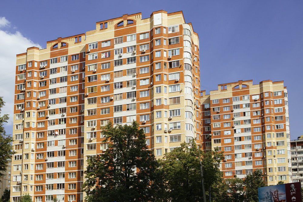 жилой комплекс на Октябрьском проспекте