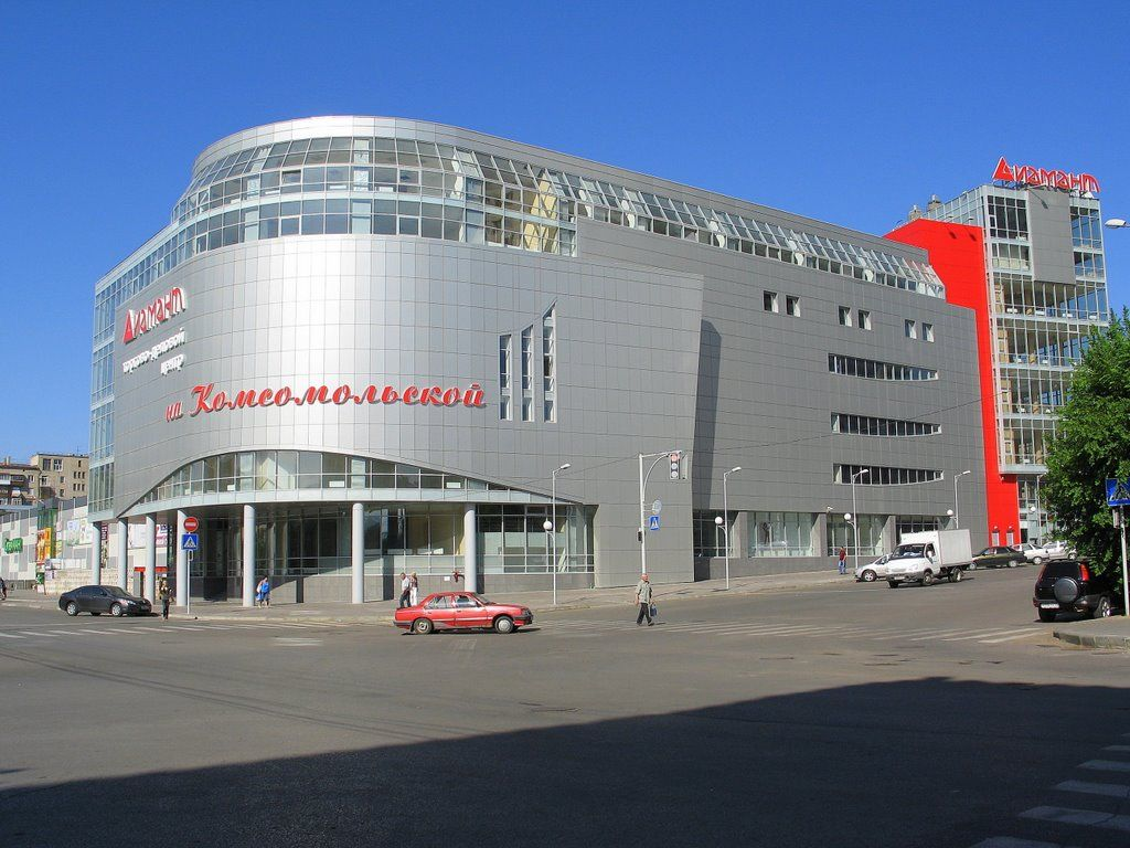 продажа помещений в ТЦ Диамант на Комсомольской